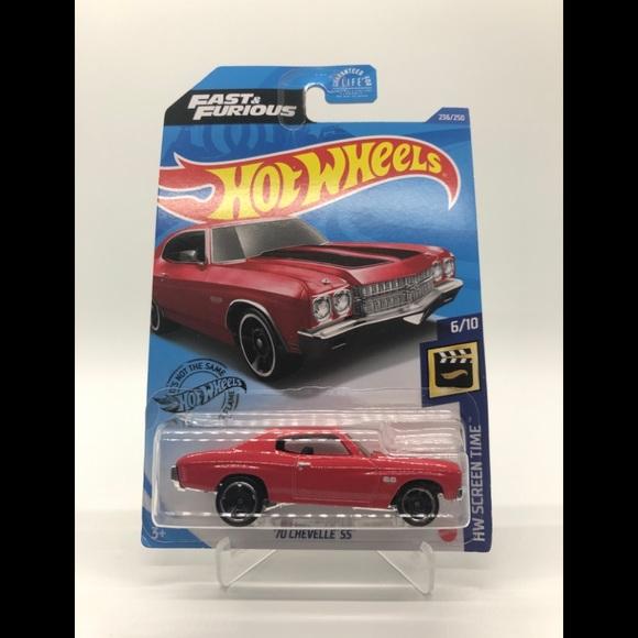 Hot Wheels Fast & Furious 70 Chevelle SS